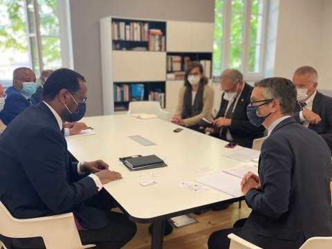 Visite Ambassadeur Ethiopie